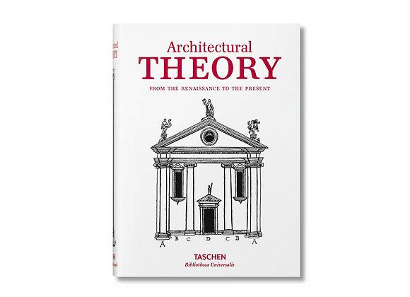 Architectural Theory (Biblioteca Universalis)