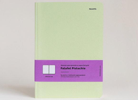 Блокнот в точку Falafel Pistachio A5