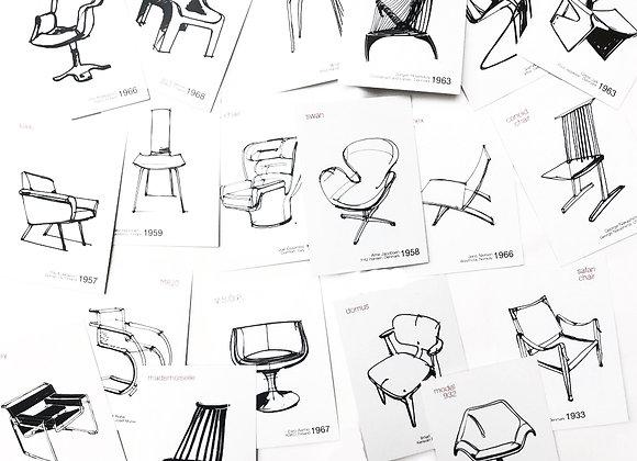 Открытки со стульями