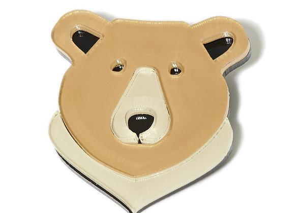 Брошь Медведь