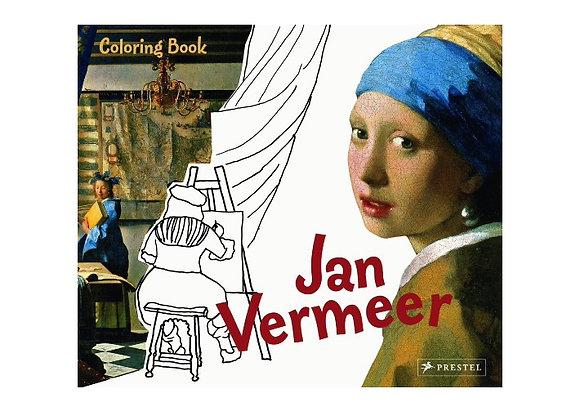 Jan Vermeer. Coloring Book