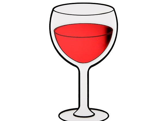 Брошь Вино