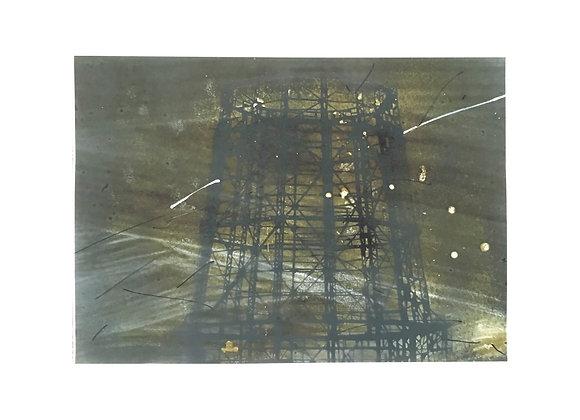 """Илья Гапонов - """"Индустриальная археология"""", формат 50 х 70"""