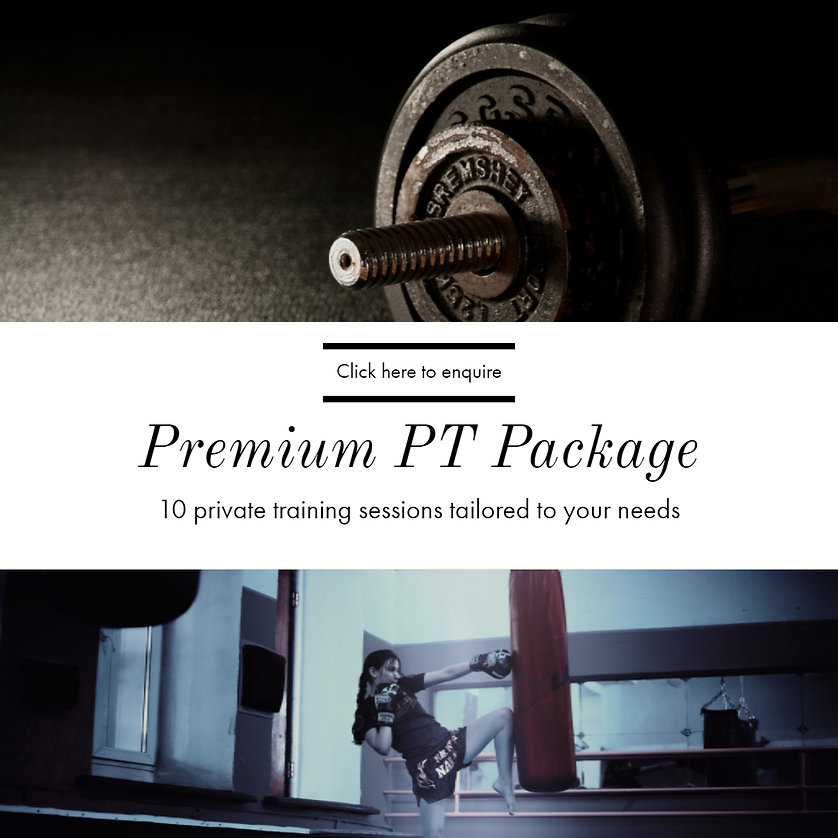 Kombat Cardio Premium PT Package