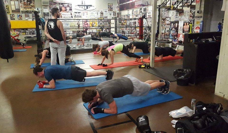 Kombat Cardio training