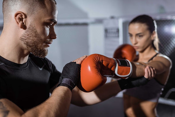 Kombat Cardio Boxing lessons