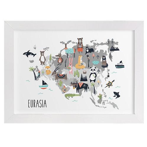 Eurasia Animal Map