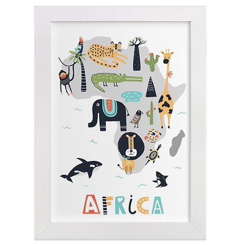 Africa Animal Map