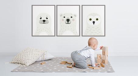 Arctic Animals in the Nursery