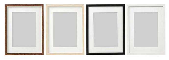 Ikea HOVSTA and RIBBA frames