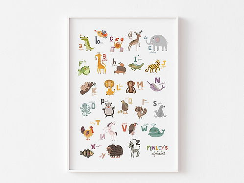 My Animal Alphabet