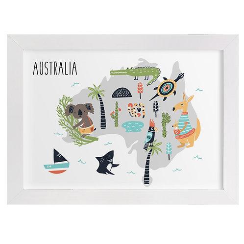 Australia Animal Map