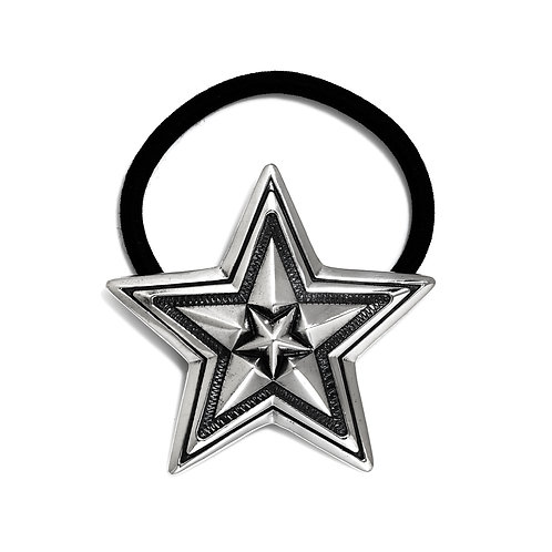 Extra Large Star in Star Hair Tie