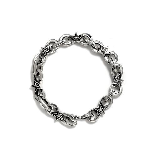 Infinity Link w/ Small Star Bracelet