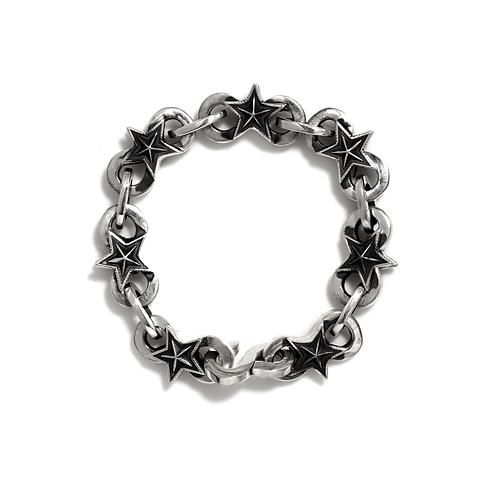 Infinity Link w/ Large Stars Bracelet