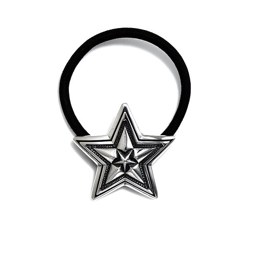 Star in Star Hair Tie