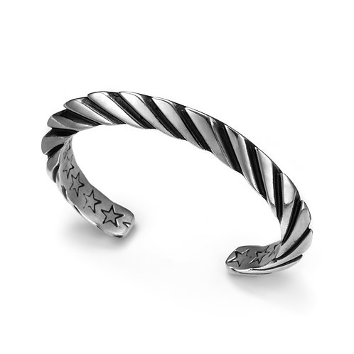 Spiral Cuff (Rounded End)
