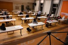 Wahlvorbereitung in Nieder-Ramstadt