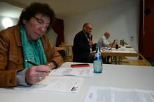 Wahlvorbereitung in Frankenhausen