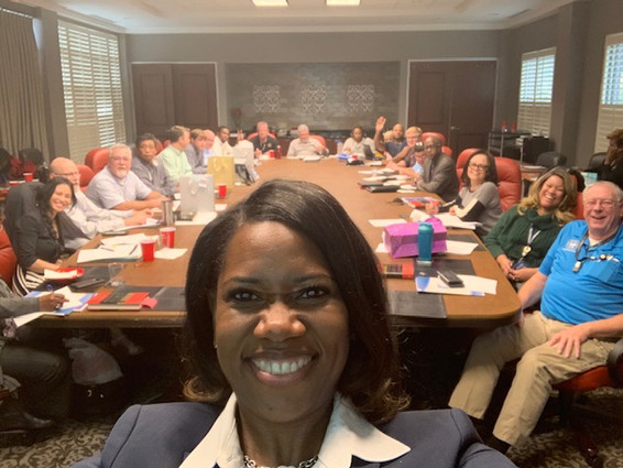 Professional Development Class with Leaders from the City of Memphis
