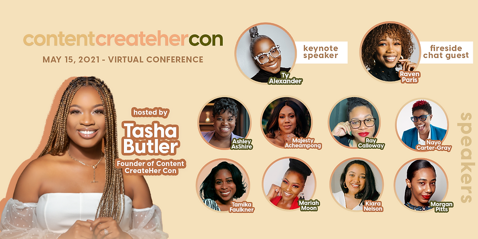 Content CreateHer Conference Replay