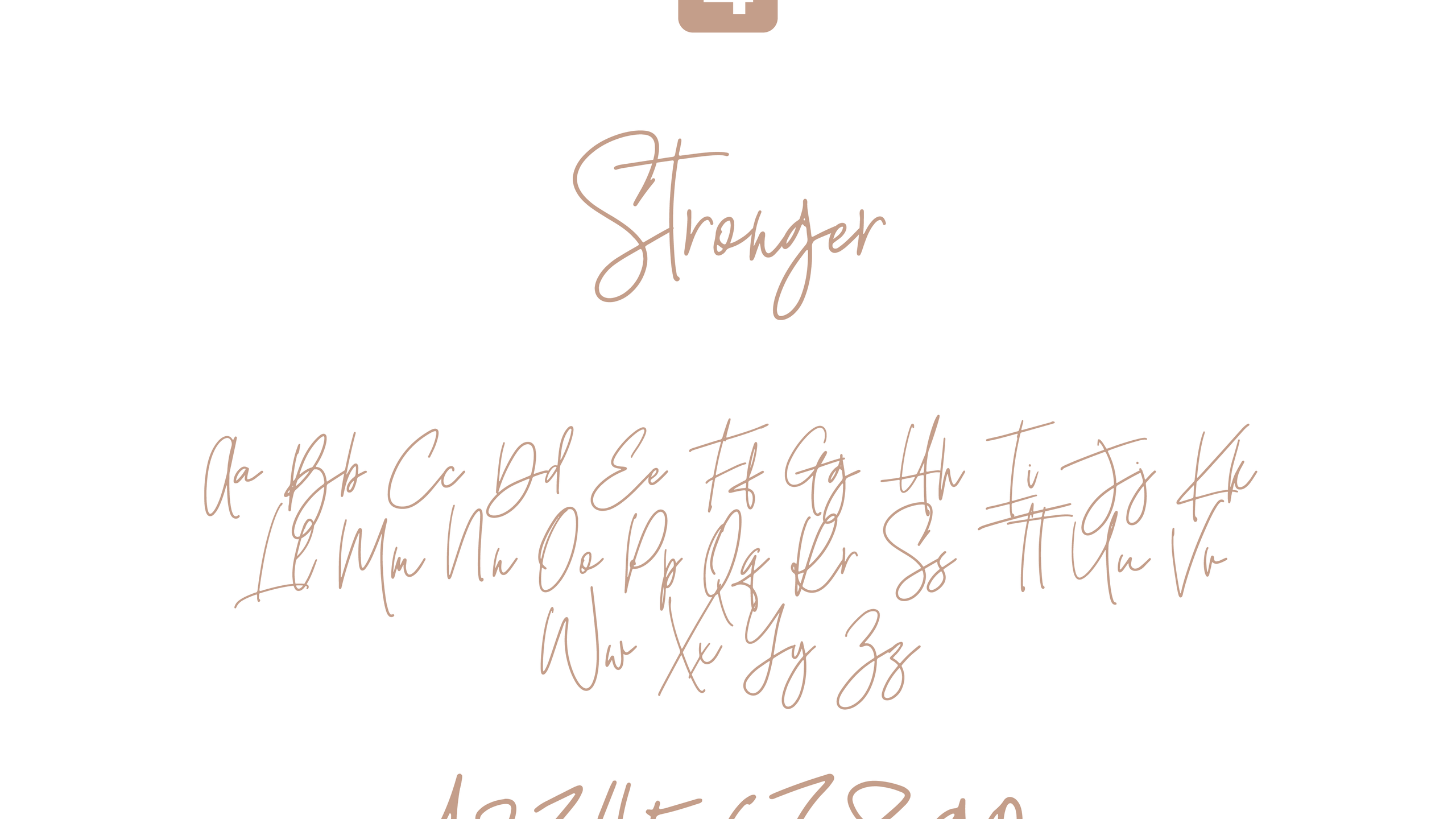 Stronger Font