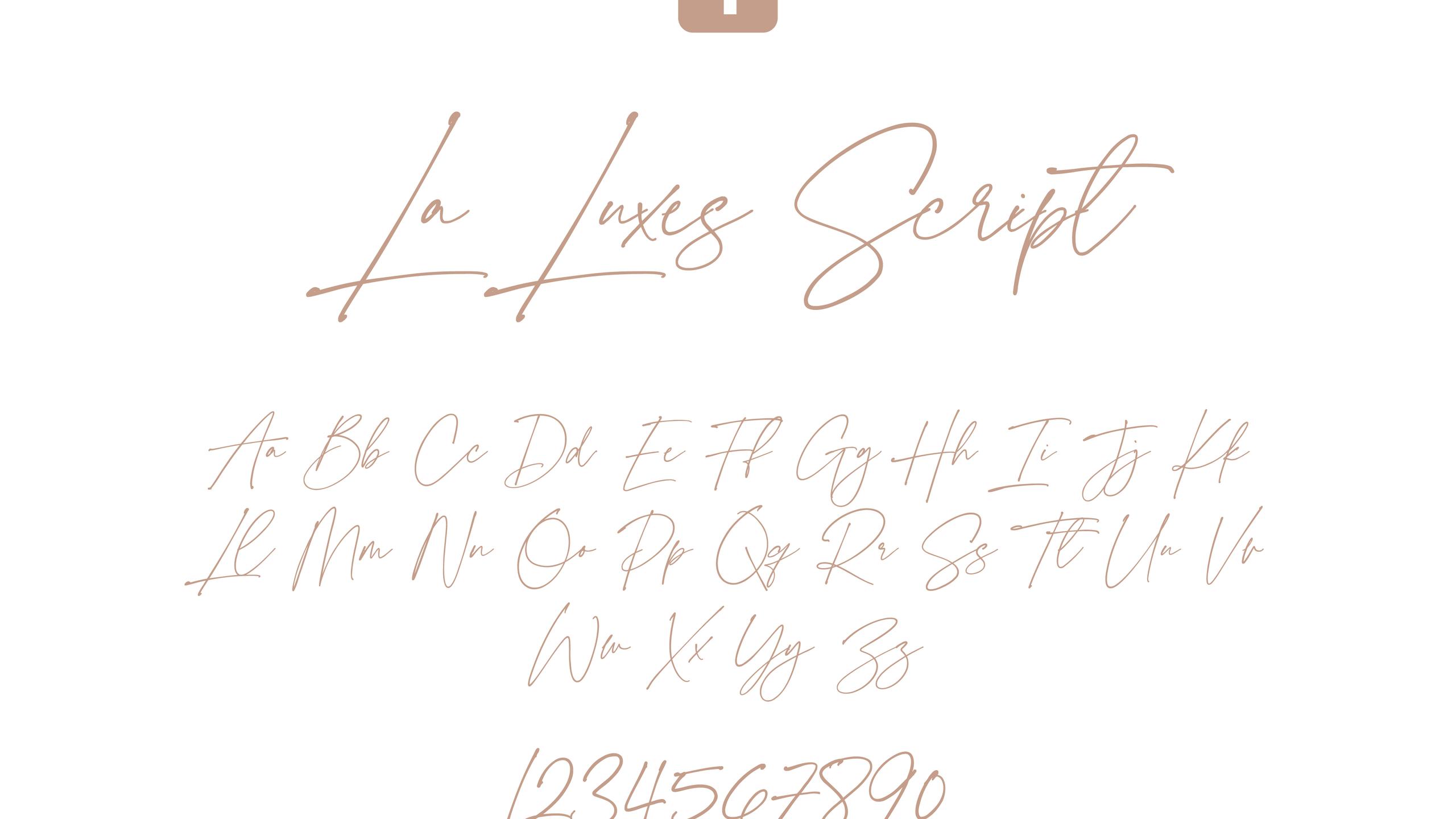 La Luxes Script Font