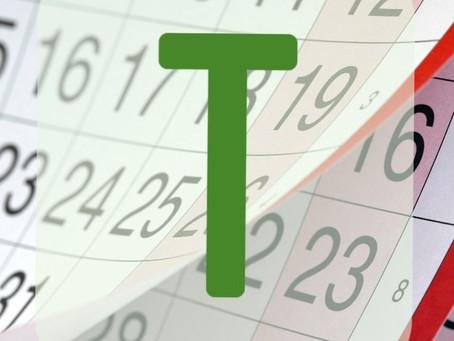 T steht für TERMINIERT