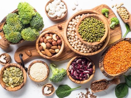 Hast du gewusst, das vegane Proteinquellen oft auch viele Kohlenhydrate enthalten?