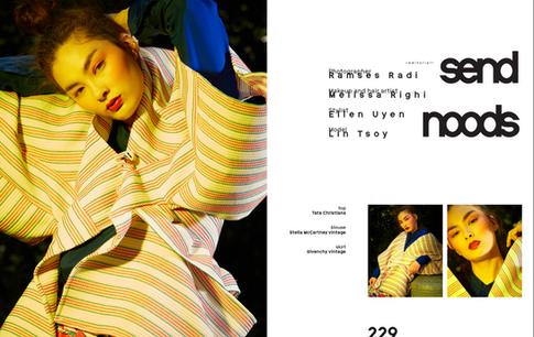 Photographer: Ramses Radi  Model: Lin Tsoy by M4Models.de Styled by Ellen Uyen MUA and hair: Melissa Righi