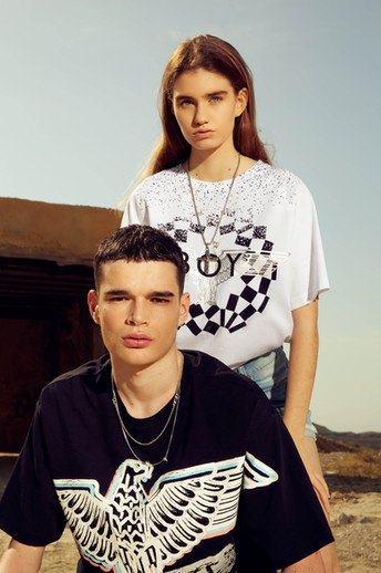 Boy London SS20 by Ramses Radi  Models: @enriquef.m @mariajesus.garciaz by @unomodels and @rome_mm23 by @viewmanagement  Mua & hair: @movewaves  styled by @amaiaolmedo  Video: @bruno.edifilms Assistant: M. Dominguez .