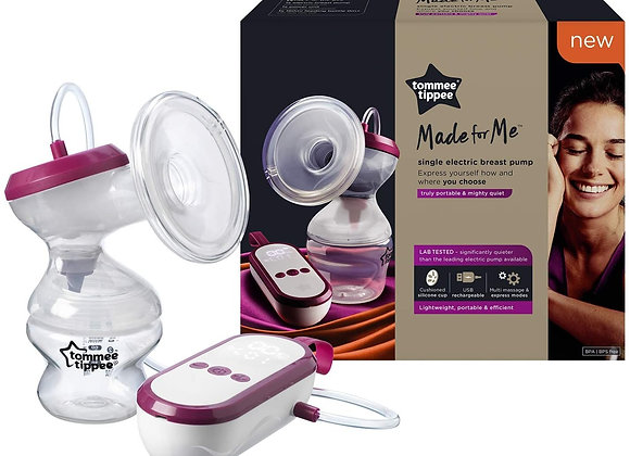 Tommee Tippee Electric Breast Pump rechargeable and portable