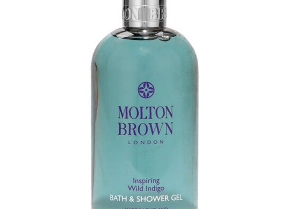 MOLTON BROWN Inspiring Wild Indigo Body Wash 300ml