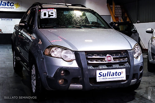 FIAT STRADA 2009/2009 - ADVENTURE 1.8 - FLEX - MANUAL