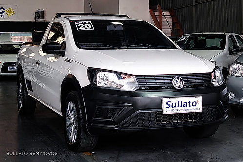 VOLKSWAGEN SAVEIRO 2019/2020 - ROBUST 1.6 - FLEX - MANUAL
