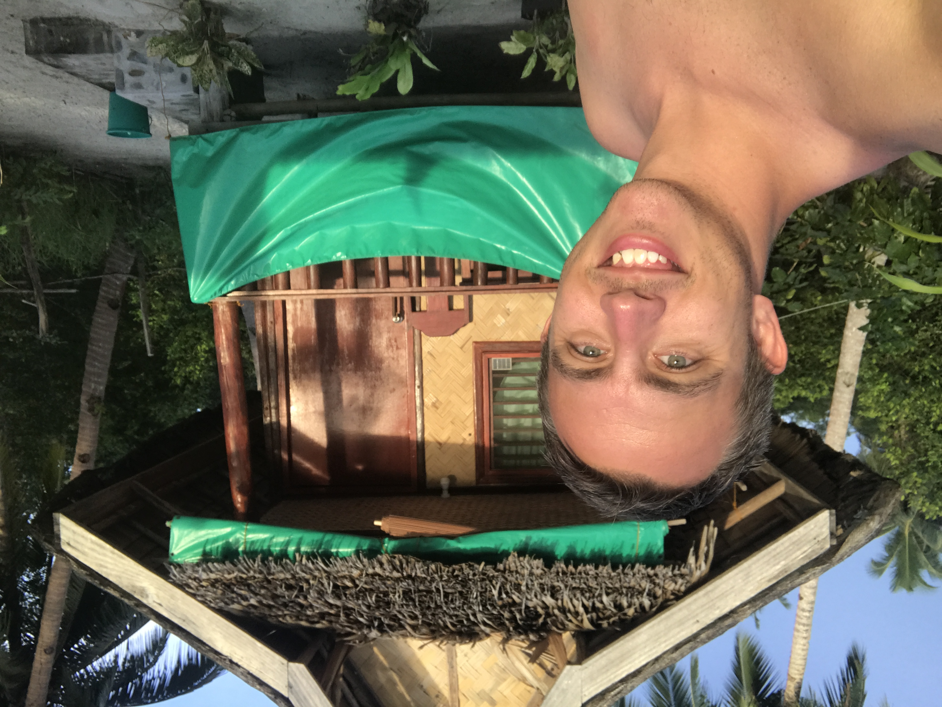 Selfie with my hut