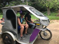 My first tuk tuk ride