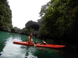 Kayaking in Big Lagoon