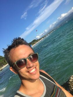 Selfie in Boracay