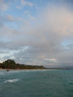 Rainbow in Boracay