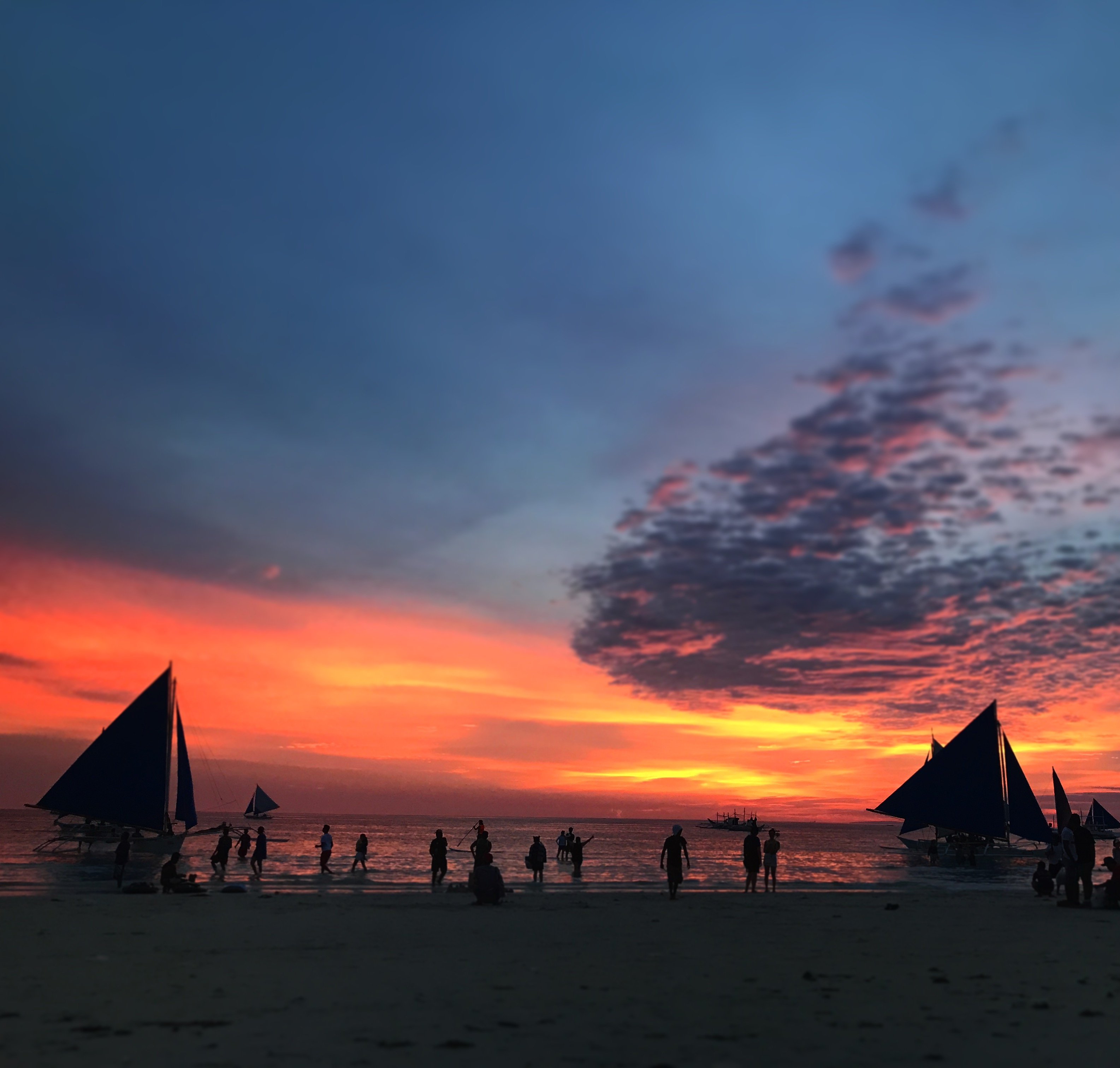 Final Sunset in the Philippines