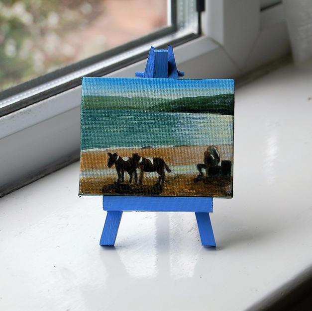 "MINI ""Donkeys on Scarborough beach"""