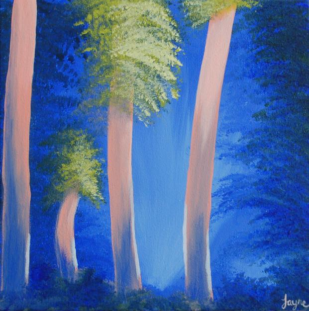 "GREETINGS CARD ""Enchanted Woodland 2"""