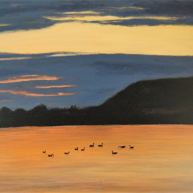 """Bedtime at Cheddar Reservoir"""