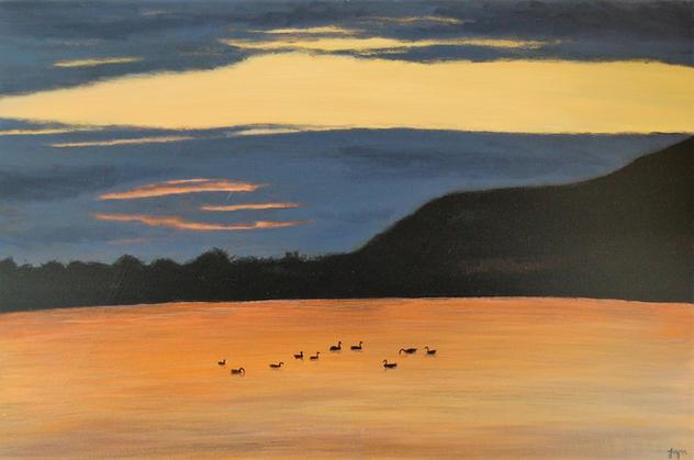 """""""Bedtime at Cheddar Reservoir"""""""