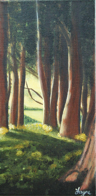 """NOW £55  """"Woodland View"""""""