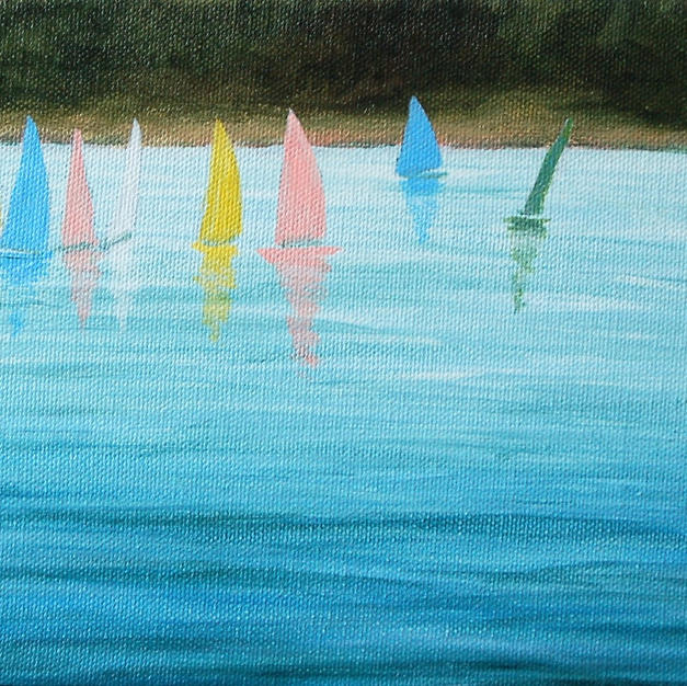 """Sailing on Cheddar Reservoir"""