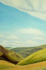 Jayne Bateman, Peak District, Acrylic on