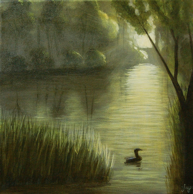 """SOLD """"The End of a Perfect Day"""""""