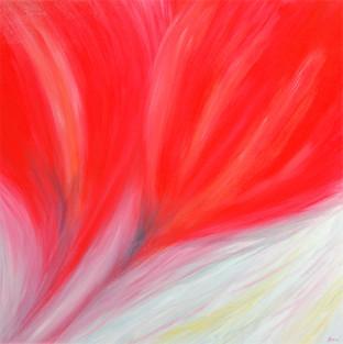 """GREETINGS CARD """"Spring Flower Dance"""""""